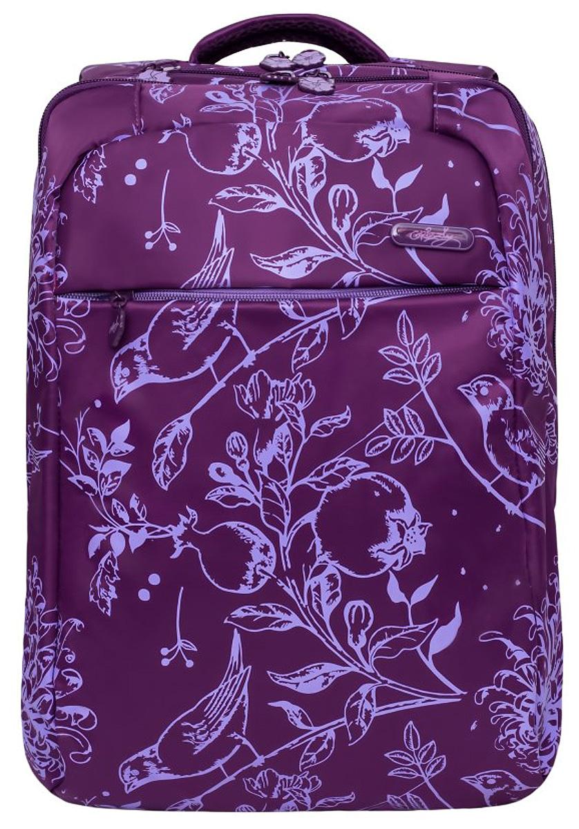 Рюкзак имеет два отделения, карман на молнии на передней стенке, внутренний карман на молнии, внутренний карман-пенал для карандашей, внутренний укрепленный карман для ноутбука и яркий красочный дизайн. Укрепленная спинка, карман быстрого доступа в верхней части рюкзака, мягкая укрепленная ручка, нагрудная стяжка-фиксатор и укрепленные лямки просто незаменимы при ежедневной эксплуатации.Такой качественный и модный рюкзак займет достойное место в вашем гардеробе.
