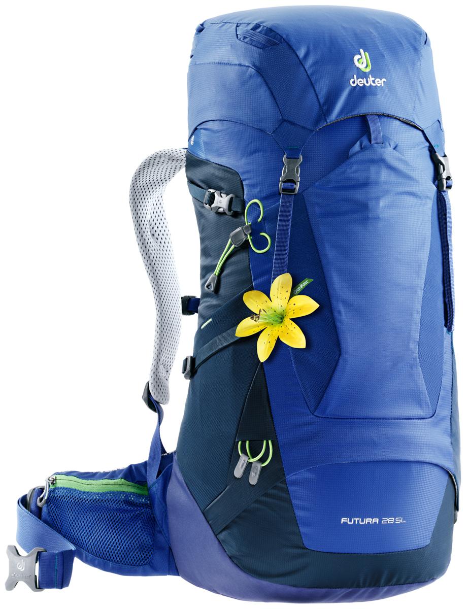 Рюкзак туристический Deuter Futura, цвет: синий, 26 л