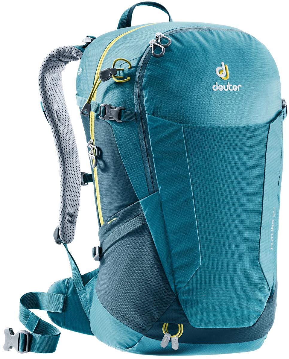 Рюкзак туристический Deuter Futura, цвет: темно-синий, 24 л велорюкзак deuter 2015 aircomfort futura 24 sl papaya lava 34224 9503