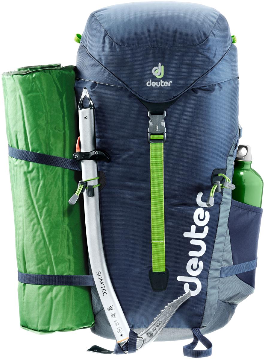 Рюкзак туристический Deuter Gravity Expedition, цвет: темно-серый, темно-синий, 45 л