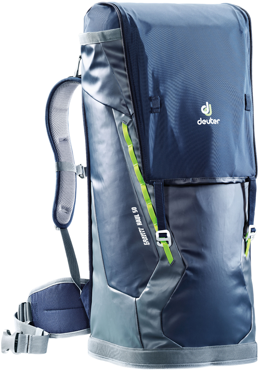 "Рюкзак туристический Deuter ""Gravity Haul"", цвет: темно-серый, темно-синий, 50 л"