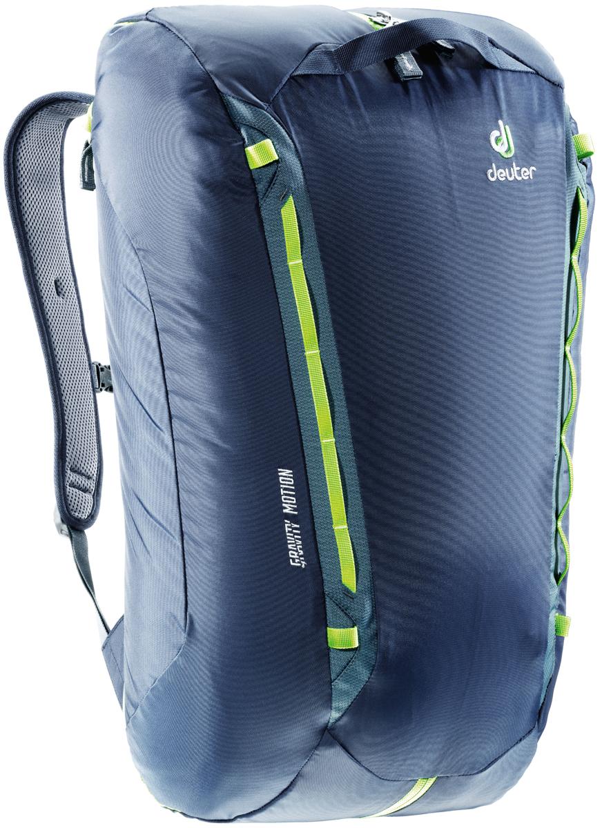 Рюкзак туристический Deuter Gravity Motion, цвет: темно-серый, темно-синий, 35 л рюкзак deuter deuter snowtour 26 темно серый 26л