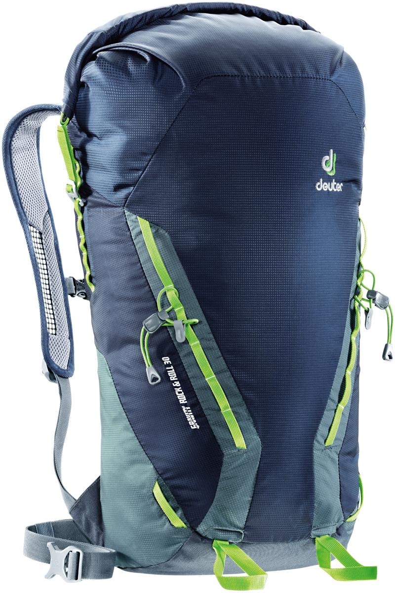 Рюкзак туристический Deuter Gravity Rock&Roll, цвет: темно-серый, темно-синий, 30 л