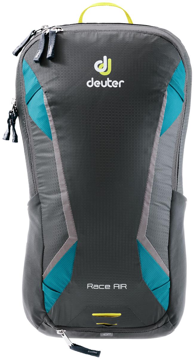 """Рюкзак туристический Deuter """"Race"""", цвет: голубой, темно-серый, 10 л"""
