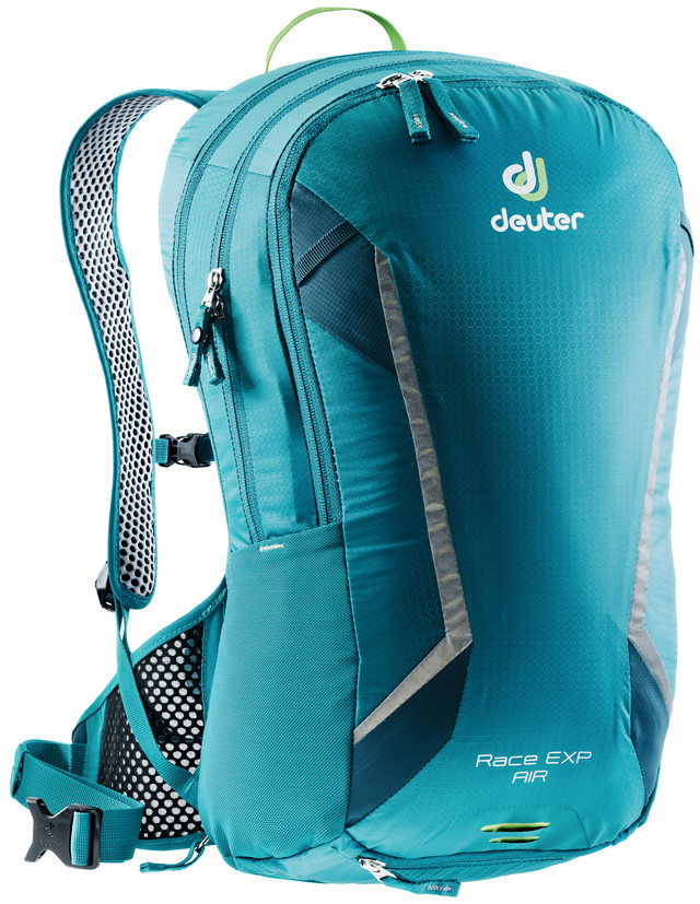 """Рюкзак туристический Deuter """"Race"""", цвет: голубой, темно-синий, 14 л"""