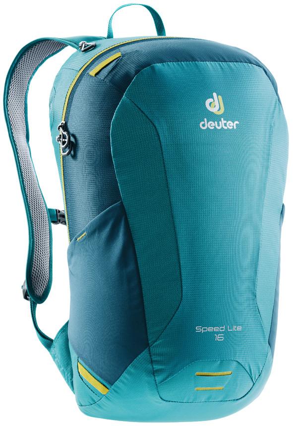 """Рюкзак туристический Deuter """"Speed Lite"""", цвет: голубой, темно-синий, 16 л"""