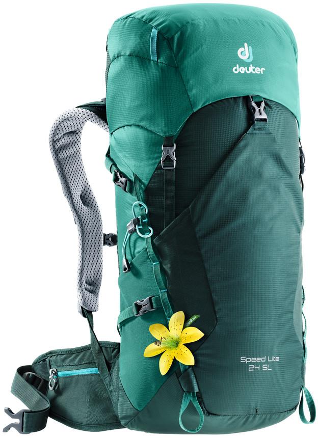"""Рюкзак туристический Deuter """"Speed Lite"""", цвет: зеленый, 24 л"""