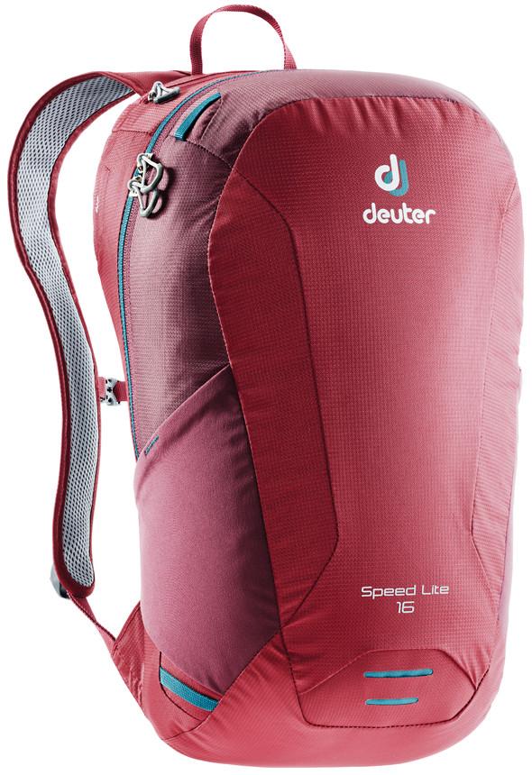 """Рюкзак туристический Deuter """"Speed Lite"""", цвет: красный, 16 л"""