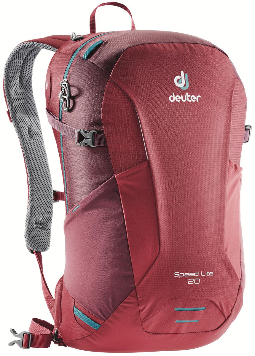 """Рюкзак туристический Deuter """"Speed Lite"""", цвет: красный, 20 л"""