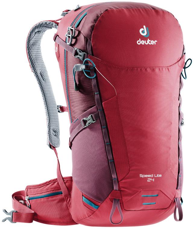 """Рюкзак туристический Deuter """"Speed Lite"""", цвет: красный, 24 л"""
