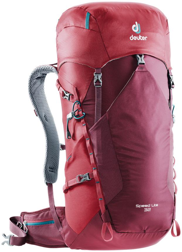"""Рюкзак туристический Deuter """"Speed Lite"""", цвет: красный, 32 л"""