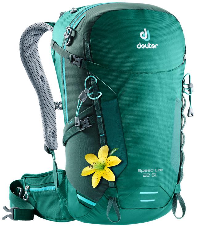 """Рюкзак туристический Deuter """"Speed Lite"""", цвет: салатовый, зеленый, 22 л"""