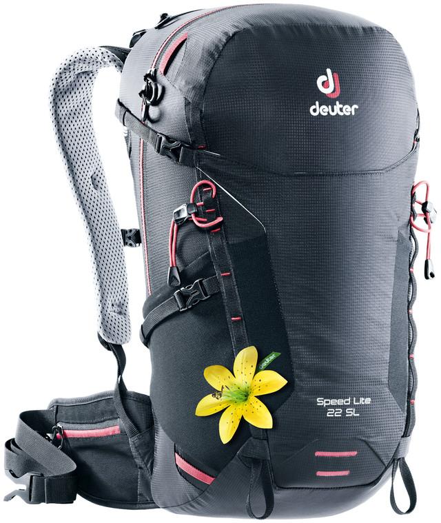 """Рюкзак туристический Deuter """"Speed Lite"""", цвет: черный, 22 л"""