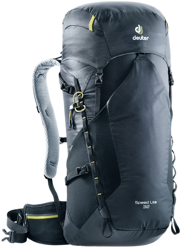 """Рюкзак туристический Deuter """"Speed Lite"""", цвет: черный, 32 л"""
