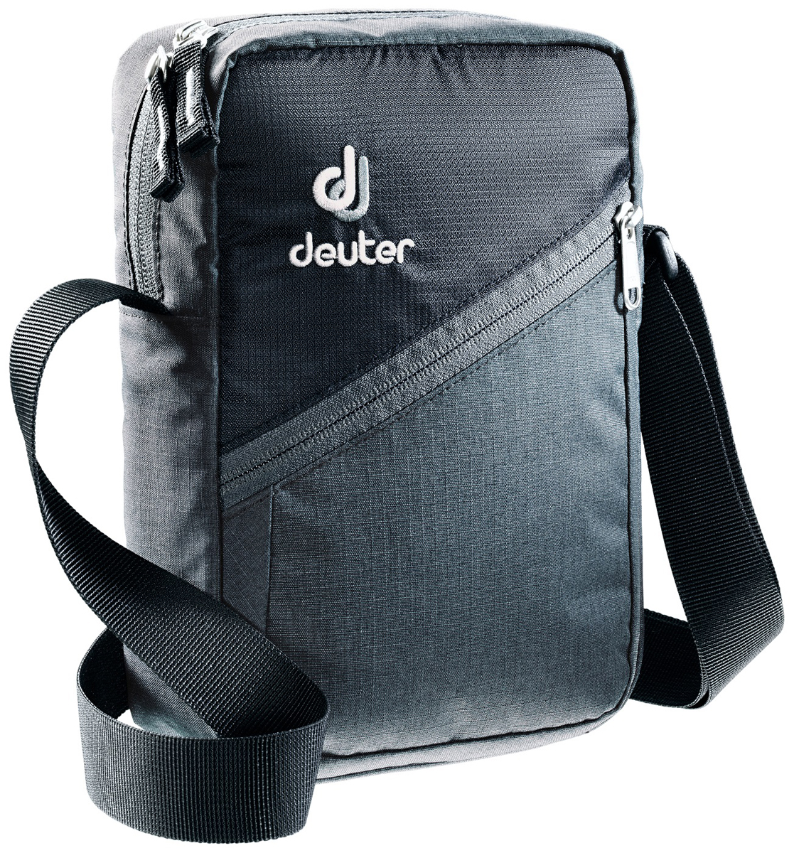 Сумка на плечо Deuter Escape, цвет: серый, черный. 4800117_4750