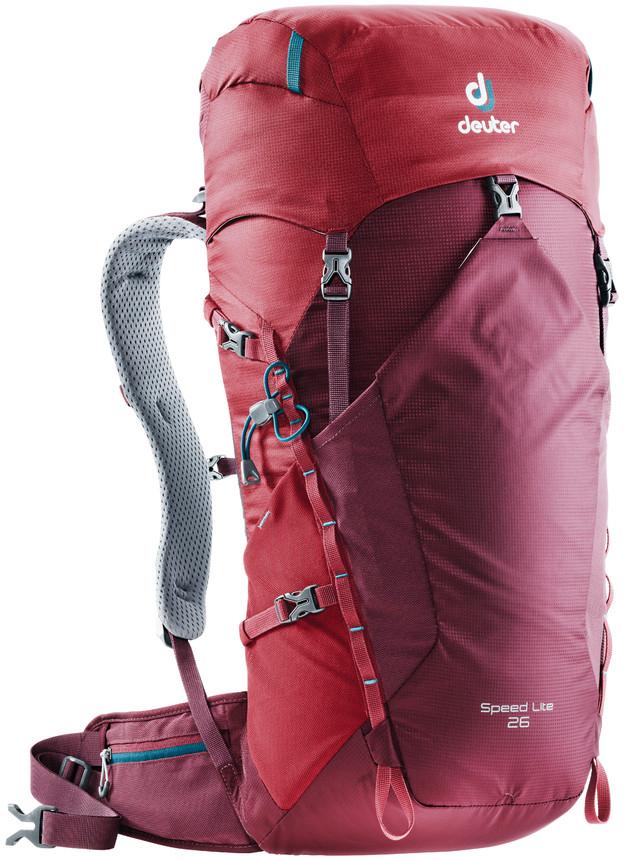 """Рюкзак туристический Deuter """"Speed Lite"""", цвет: красный, 26 л"""