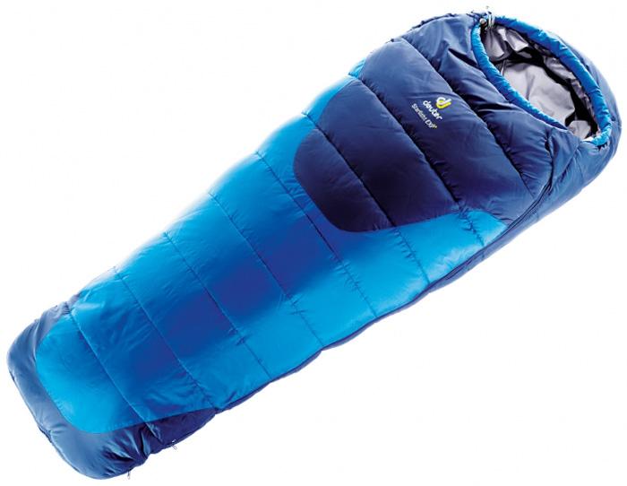 Мешок спальный Deuter Starlight Exp, левосторонняя молния, цвет: синий
