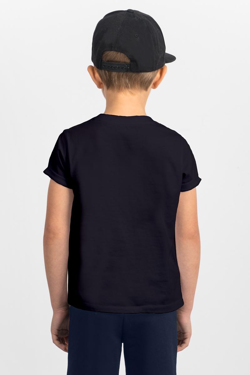 Футболка для мальчика Boom!, цвет:  черный.  80392_BLB.  Размер 110/116 Boom!