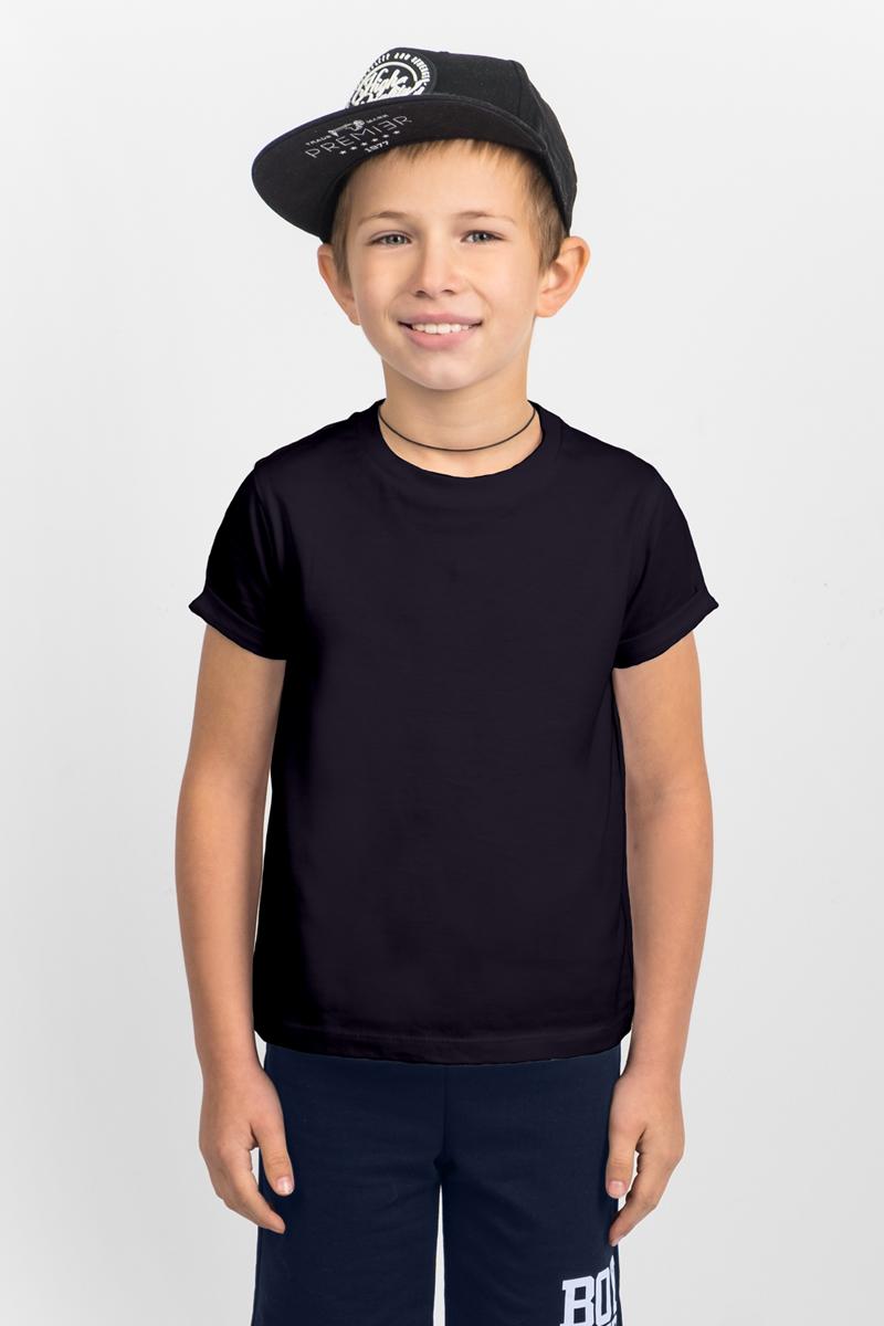 Футболка для мальчика Boom!, цвет: черный. 80392_BLB. Размер 158