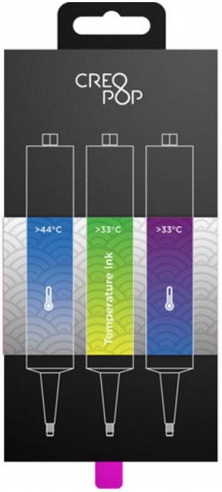 CreoPop SKU008, Blue Green Purple чернила для 3D ручки