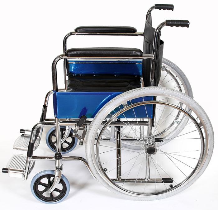 Кресло – коляска Amrus, для инвалидов, AMRW18P-EL (P) кресло коляска механическое с повышеной грузоподъемностью vermeiren v300хl