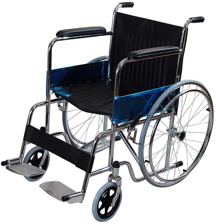 Кресло – коляска Amrus, для инвалидов, AMRW18P-EL кресло коляска механическое с повышеной грузоподъемностью vermeiren v300хl