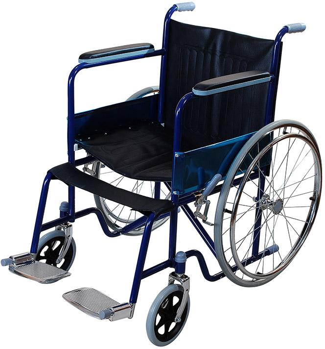 Кресло – коляска Amrus, для инвалидов, AMTS1903-SF кресло коляска механическое с повышеной грузоподъемностью vermeiren v300хl