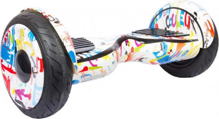 Гироскутер Каркам Smart Balance 10,5, цвет: Graffity (разноцветный) крепление для мобильных устройств каркам км 101