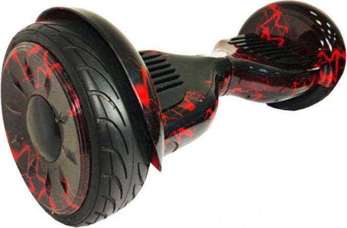 "Гироскутер Каркам ""Smart Balance 10,5"", цвет: Red Lighting (черный, красный)"