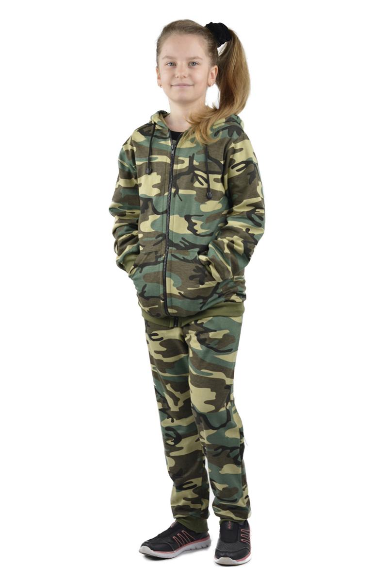 Костюм камуфляжный детский Ursus Тигр, цвет: хаки. КОСДЕТ106. Размер 146/152