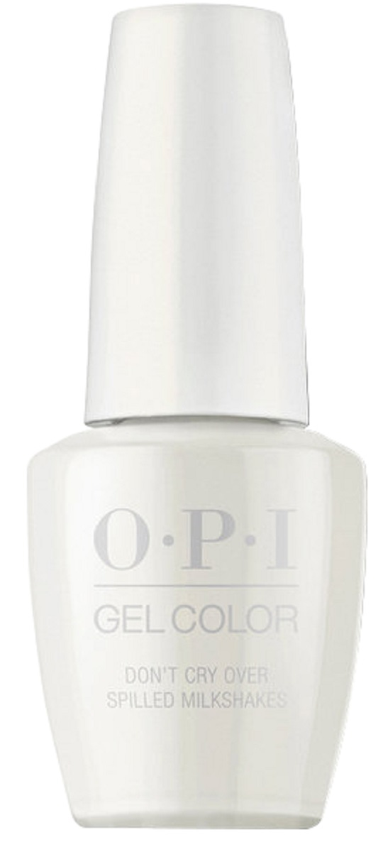 OPI GelColor Гель-лак для ногтей Don't Cry Over Spilled Mil, 15 мл opi infinite shine nail lacquer no stopping me now 15 мл
