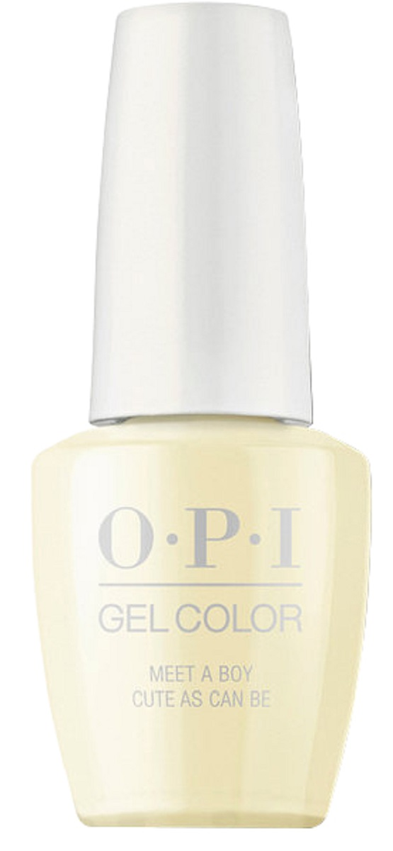 OPI GelColor Гель-лак для ногтей Meet a Boy Cute As Can Be, 15 мл opi infinite shine nail lacquer no stopping me now 15 мл