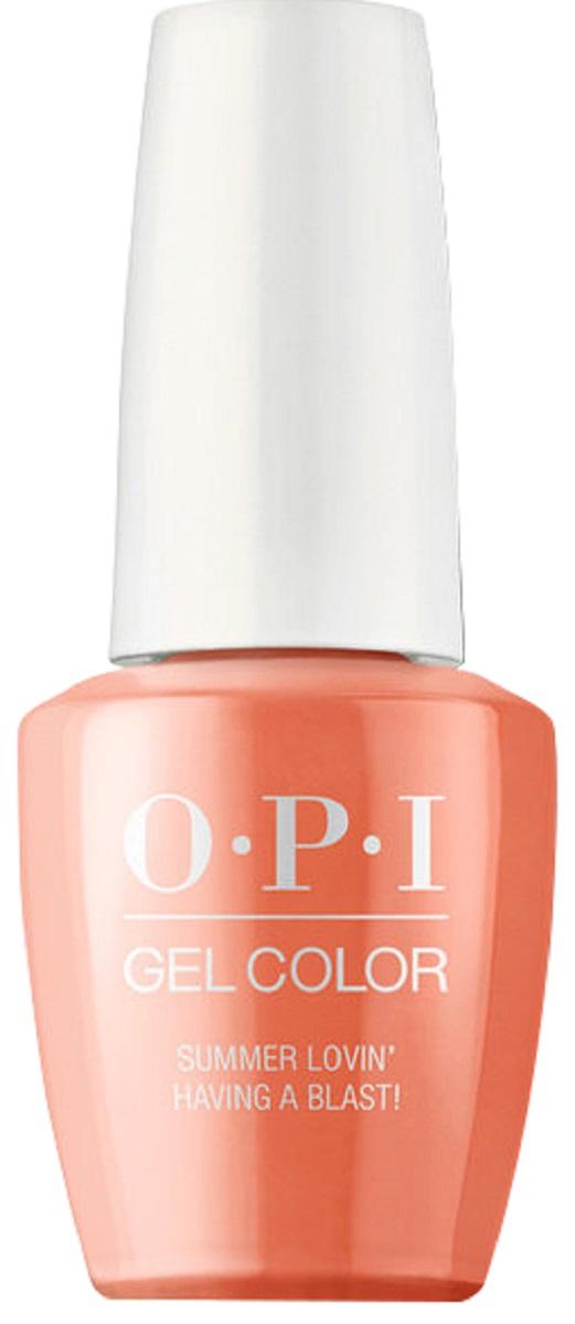 цена на OPI GelColor Гель-лак для ногтей Summer Lovin' Having a Bla, 15 мл