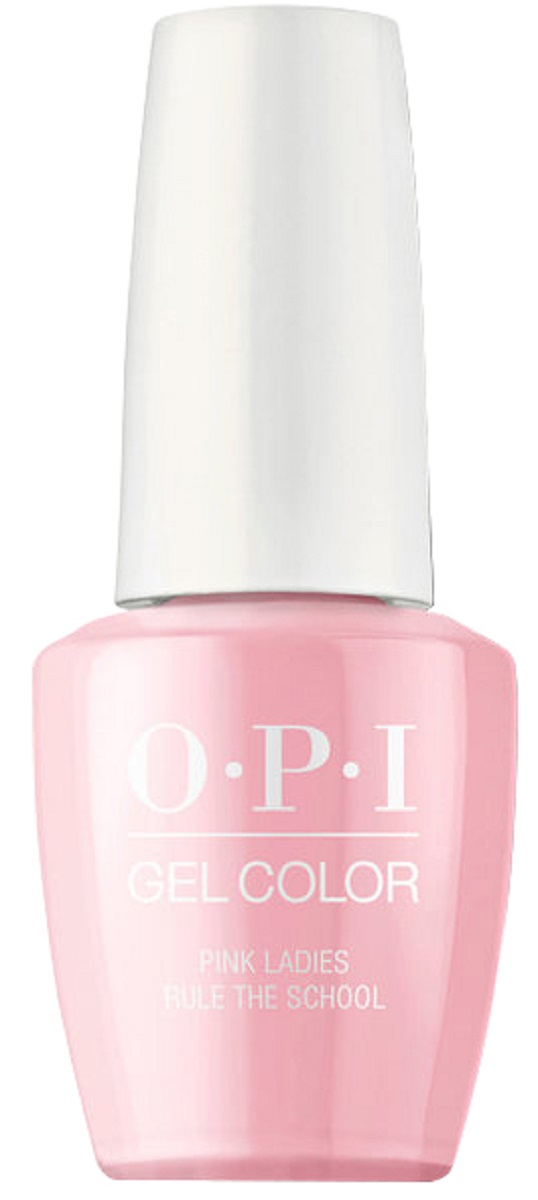 OPI GelColor Гель-лак для ногтей Pink Ladies Rule the Schoo, 15 мл opi infinite shine nail lacquer no stopping me now 15 мл