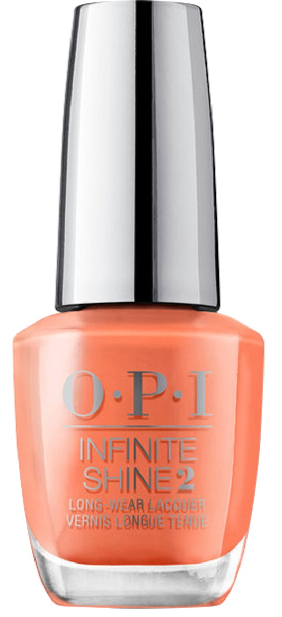 OPI Infinite Shine Лак для ногтей Summer Lovin' Having a Bla, 15 мл opi лак для ногтей linger over coffee infinite shine 15мл