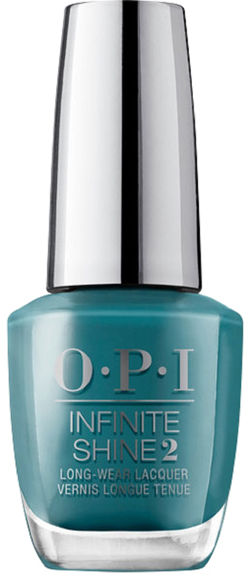 OPI Infinite Shine Лак для ногтей Teal Me More, Teal Me More, 15 мл opi лак для ногтей linger over coffee infinite shine 15мл