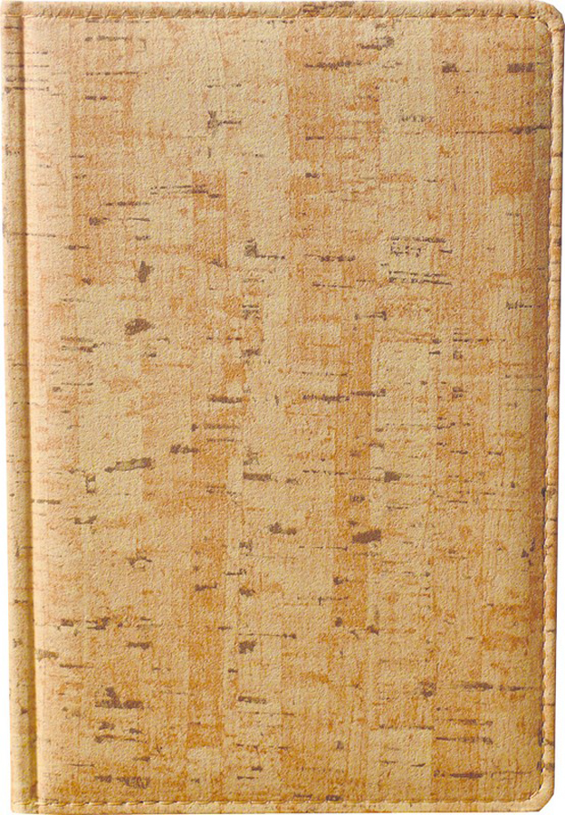 Attache Ежедневник Корк недатированный 176 листов формат А5 209636 цвет бежевый ежедневник attache portofino а5 140x200mm black