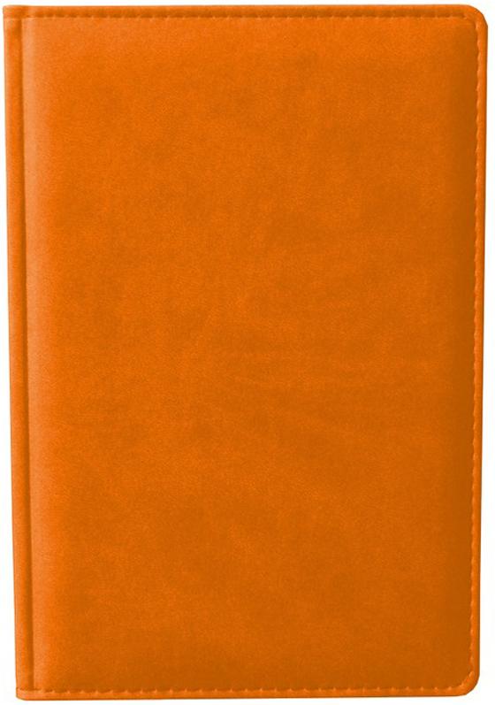 Attache Ежедневник Сиам недатированный 176 листов формат А6 цвет оранжевый