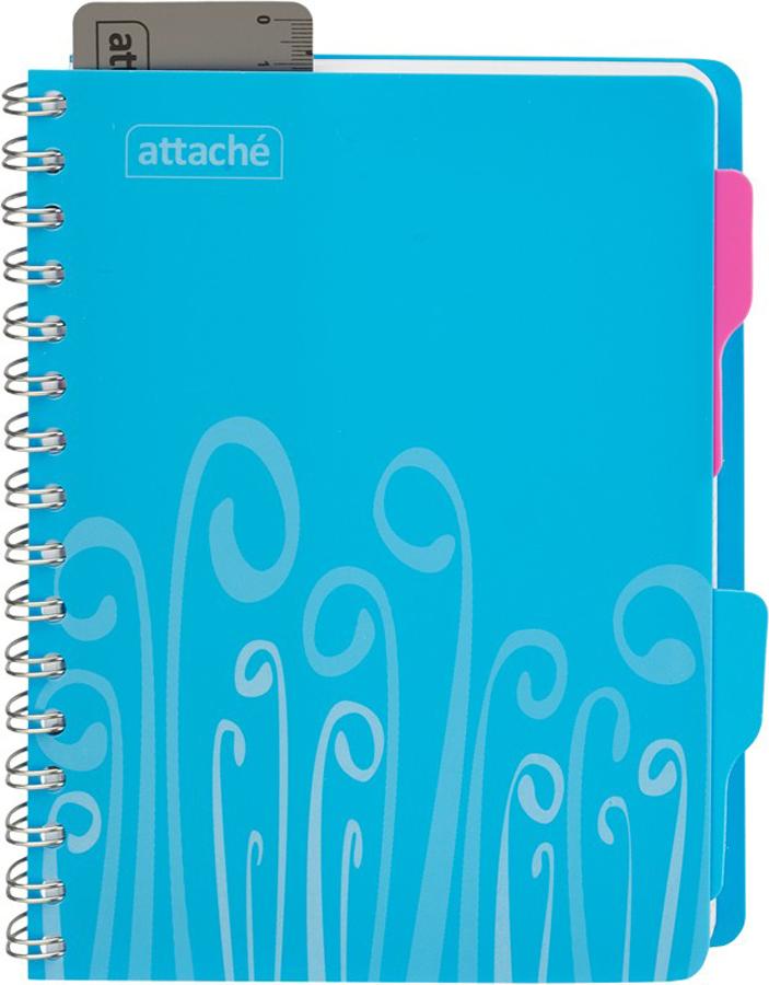 Attache Тетрадь Fantasy 140 листов в клетку А5 цвет голубой