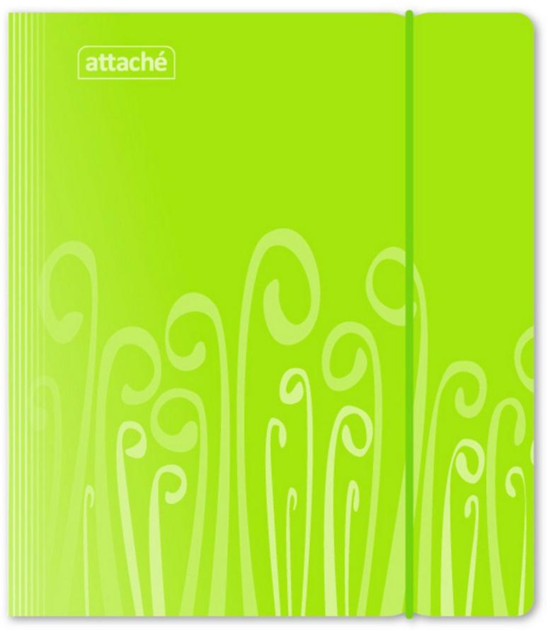 Attache Тетрадь Fantasy 120 листов в клетку А5 цвет зеленый, Тетради  - купить со скидкой