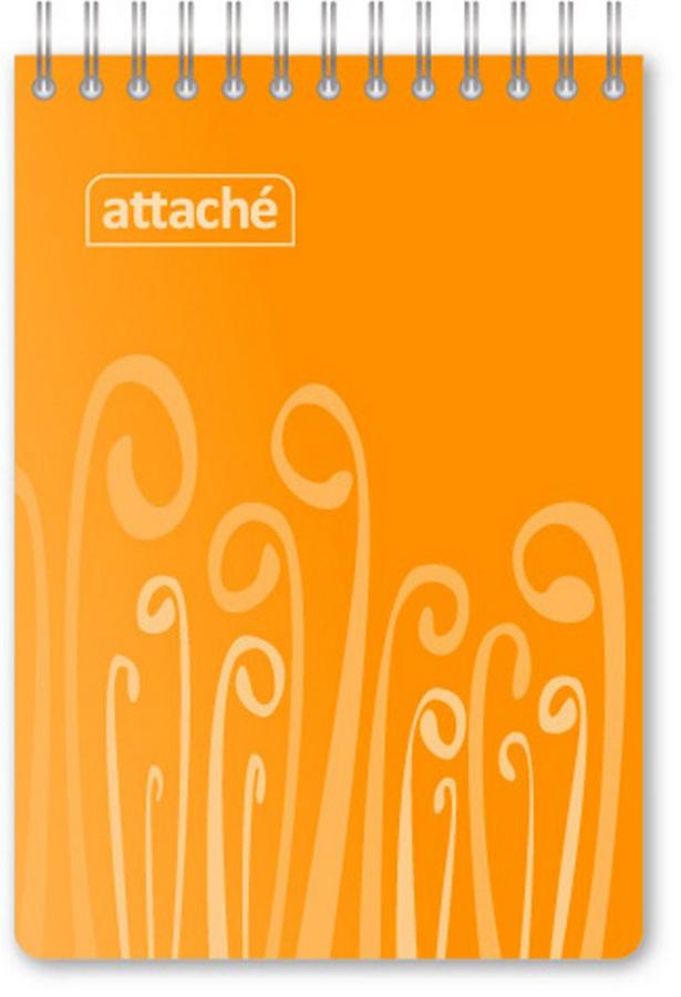 Attache Блокнот Fantasy 80 листов формат А6 цвет оранжевый attache блокнот fantasy 80 листов формат а6 цвет зеленый