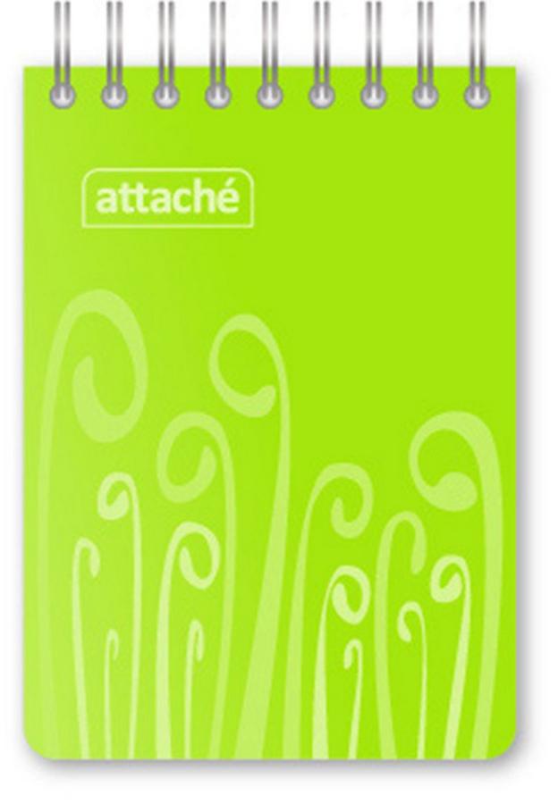 Attache Блокнот Fantasy 80 листов формат А7 цвет зеленый attache блокнот fantasy 80 листов формат а6 цвет зеленый