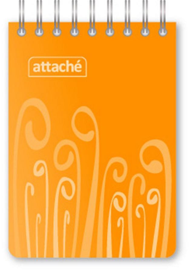 Attache Блокнот Fantasy 80 листов форматА7 цвет оранжевый attache блокнот fantasy 80 листов формат а6 цвет зеленый