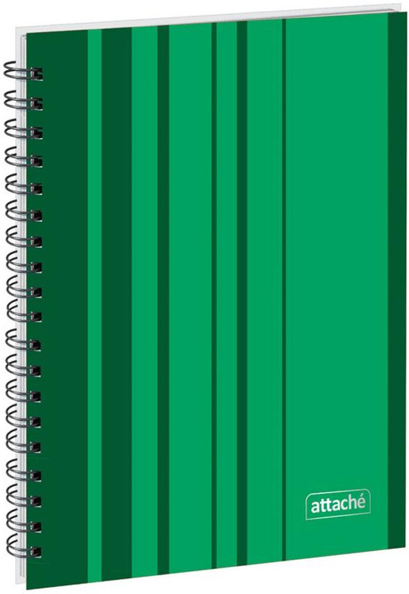 Attache Тетрадь Сoncept 120 листов в клетку формат А5 цвет зеленый, Тетради  - купить со скидкой