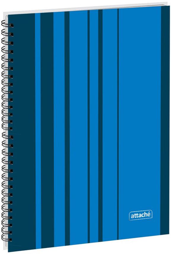 Attache Тетрадь Сoncept 120 листов в клетку формат А4 цвет синий