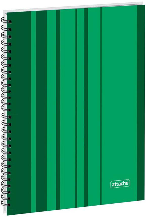 Attache Тетрадь Сoncept 120 листов в клетку формат А4 цвет зеленый канц эксмо тетрадь окошки 48 листов в клетку цвет зеленый