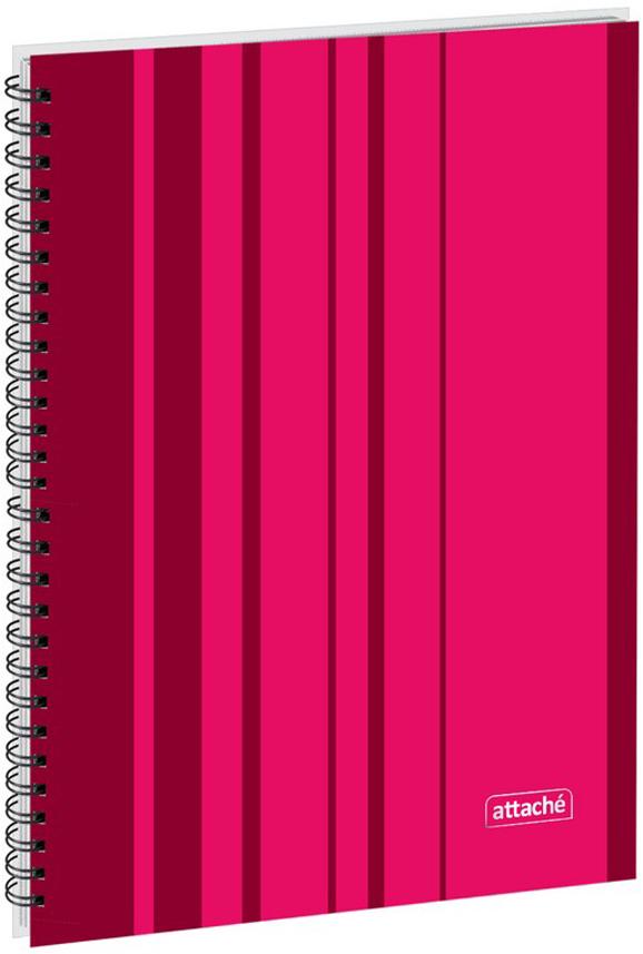 Attache Тетрадь Сoncept 120 листов в клетку формат А4 цвет бордовый