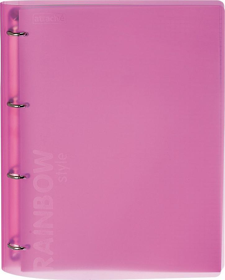 Attache Тетрадь Rainbow Style 120 листов А4 цвет розовый