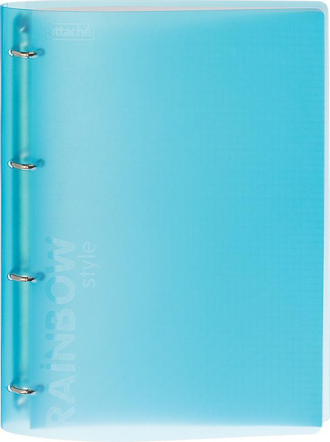 Attache Тетрадь Rainbow Style 120 листов А4 цвет голубой