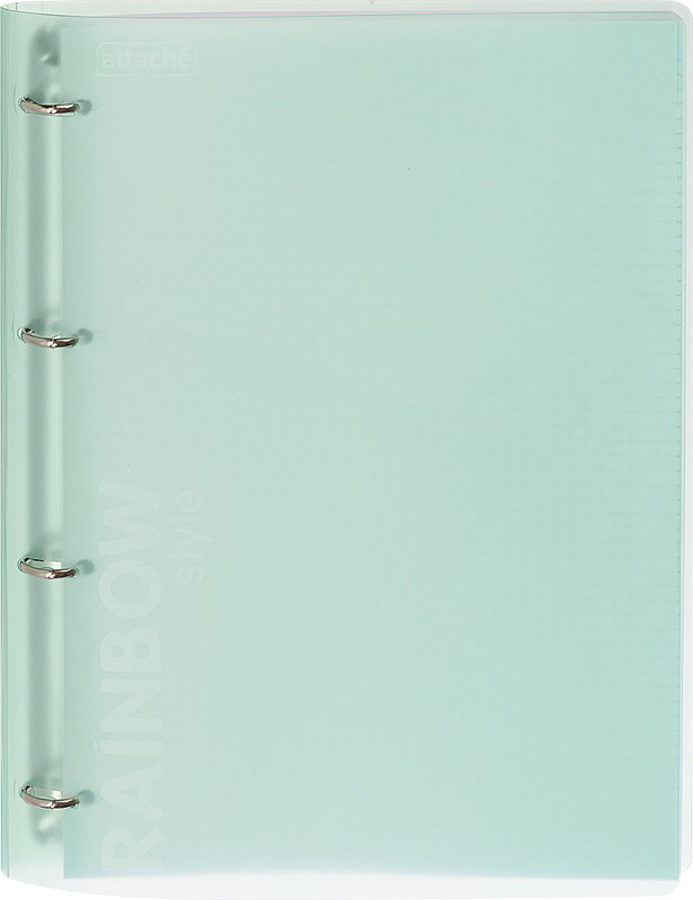Attache Тетрадь Rainbow Style 120 листов А4 цвет зеленый
